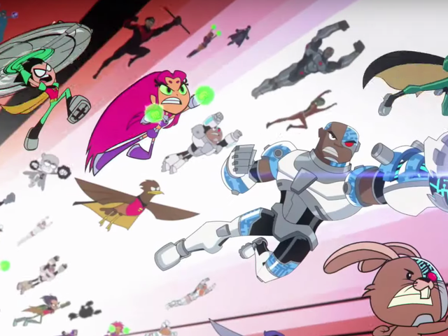 Teen Titans Go! vs. Teen Titans Wants to Give the Spider-Verse a Run for Its Money