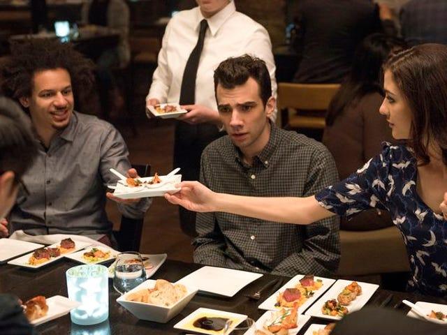 Un gag de dîner ne fait pas pour un homme très satisfaisant
