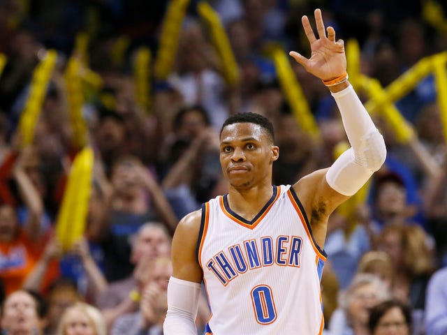 Russell Westbrook Has A Double-Double For The Season