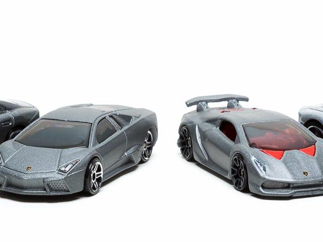 Silver Lamborghinis