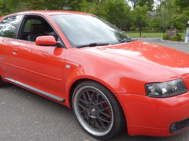 At $23,900, Does This Gray-Market 2001 Audi S3 Have You Seeing Red?