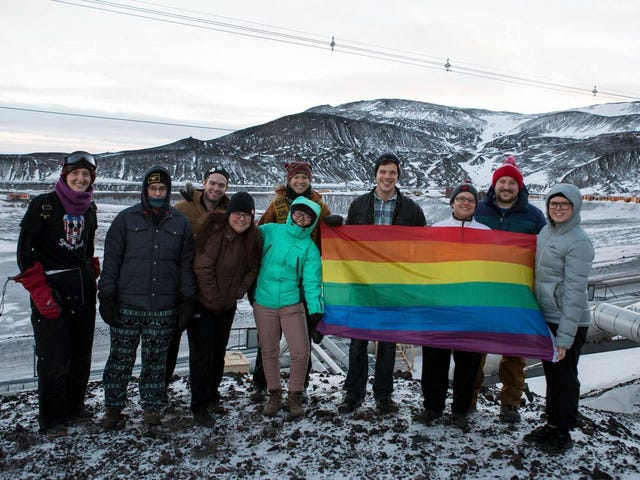 Antarctica's First Pride Celebration Is Officially Here