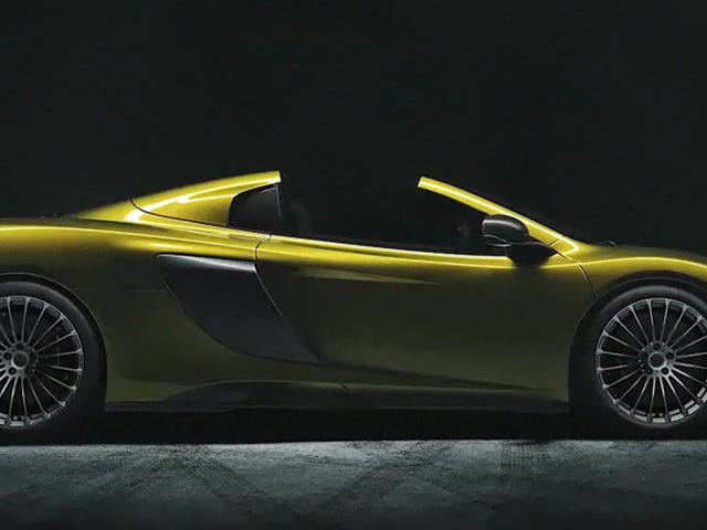 McLaren 675LT Spider: é isso