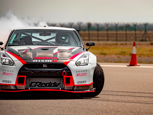 A 1,380 Horsepower Nissan GT-R Just Set The Drifting World Record At 190 MPH