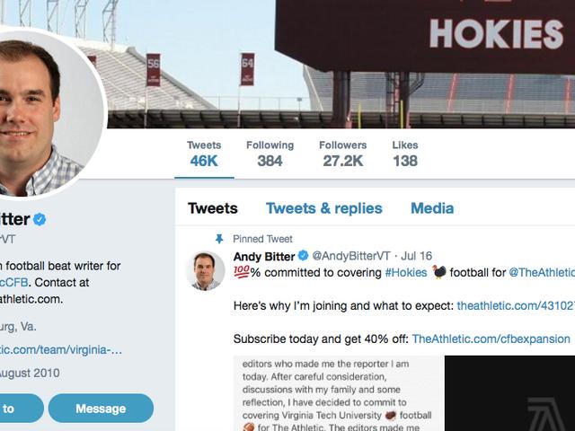 Ο <i>Roanoke Times</i> σκοτώνει τον πρώην δημοσιογράφο του για την άρνηση να παραιτηθεί από το λογαριασμό Twitter