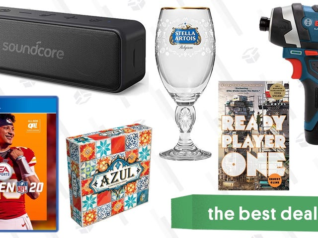 Sunday's Best Deals: Waterproof Speaker, Bosch Tools, DIY Ice Cream, Kindle Bestsellers, and More