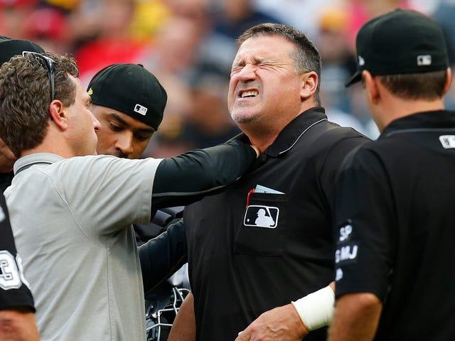MLB-scheidsrechters zijn klaar met de hele polsband-deal