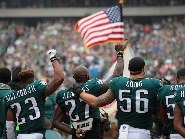 Report: NFL May Go Back To Keeping Players In Locker Room During Anthem