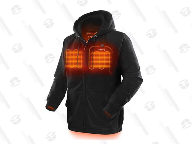 Don't Freeze Your Nips Off, Get a Heated Jacket During Today's One-Day Sale