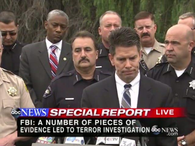 FBI: San Bernardino Mass Shooting Now Being Investigated as an 'Act of Terror'