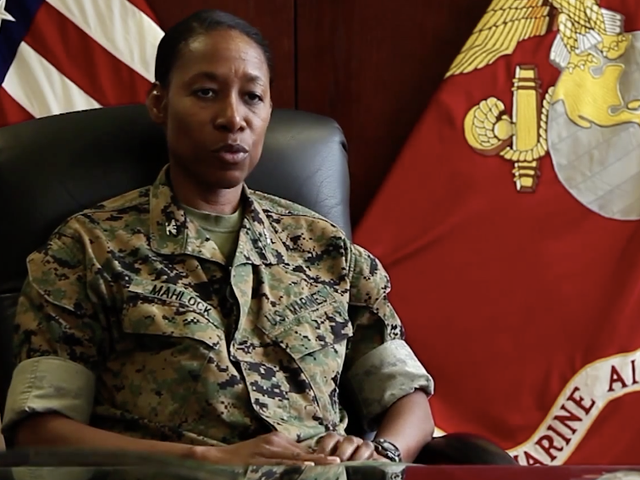 Lorna M. MahlockCould Be the 1st Black Woman to Serve as Brigadier General in the Marine Corps
