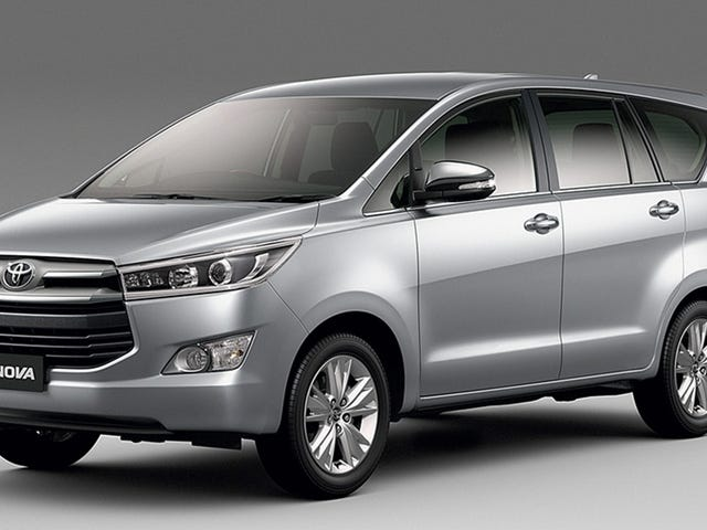 Toyota Innova: The RWD body-on-frame people carrier (and available with a manual!)