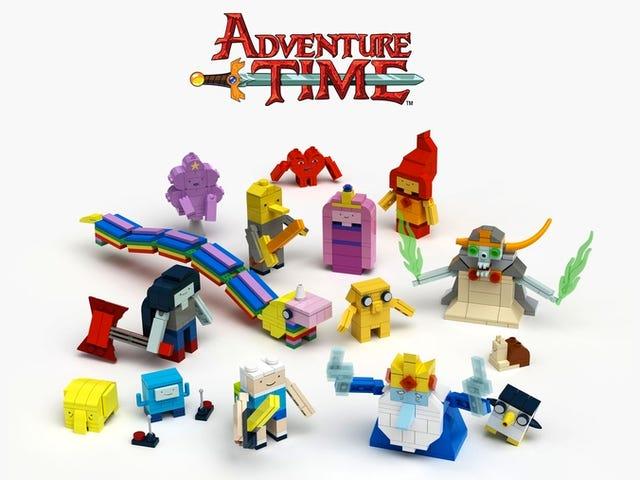 Matematisk!  Lego Reveals Det er endelig at lave et <i>Adventure Time</i>