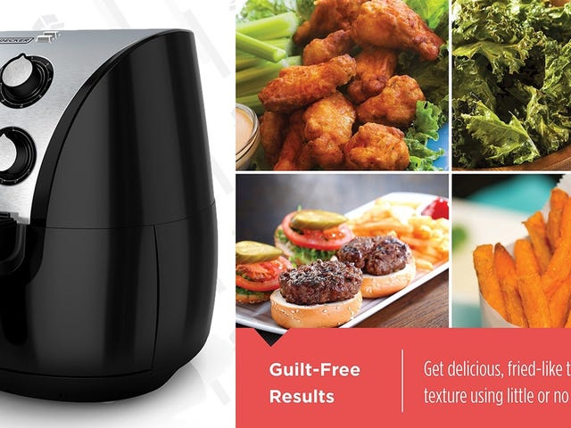This $50 Air Fryer Uses Convection For Oil-Free Crispiness