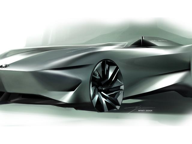 Infiniti's Prototype 10 Concept Car Looks Like a Single-Seater Torpedo