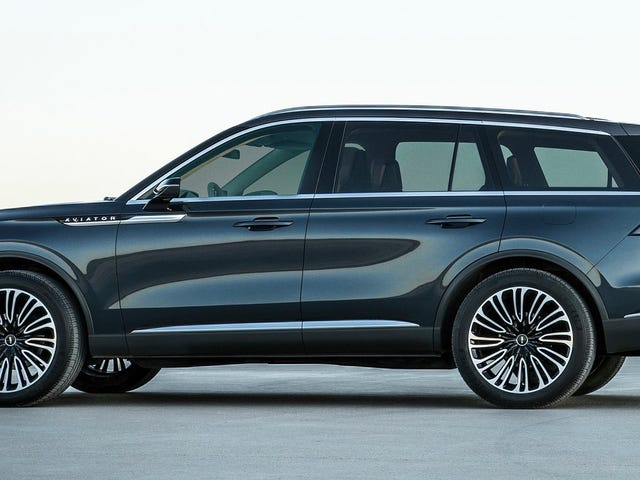 The Lincoln Aviator Looks Surprisingly Good For A Three-Row Crossover