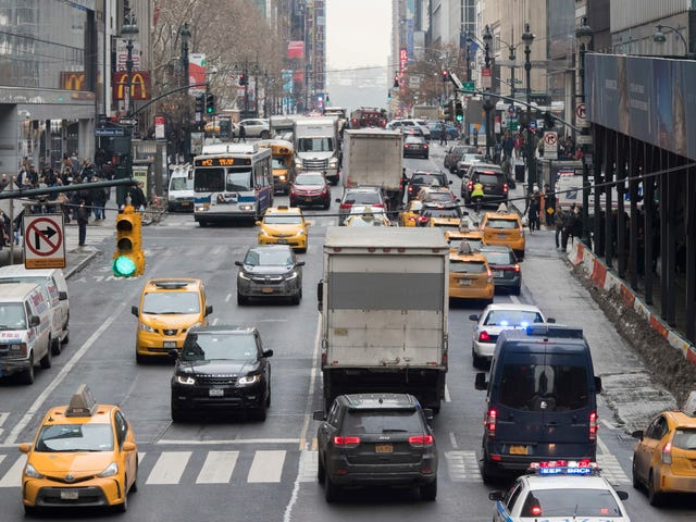 Surprise: Tons of New York Drivers Are Trying to Get Out of Congestion Pricing