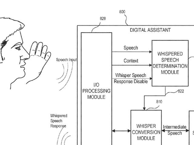 Apple Wants to Patent a Voice Assistant That Knows When to Whisper Back