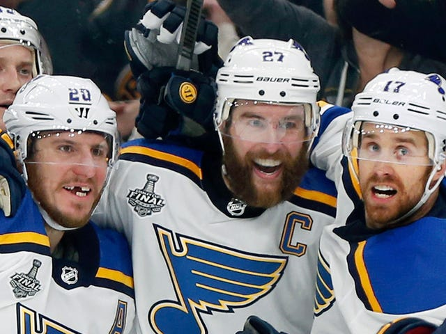 St. Louis Blues Win Stanley Cup In Game 7 By Humiliating Some Losers Who Can't Handle Jordan Binnington