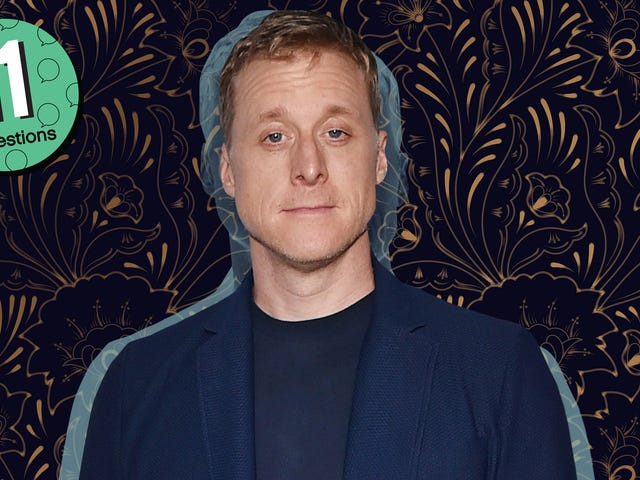 Alan Tudyk was pumped full of adrenaline for Patch Adams
