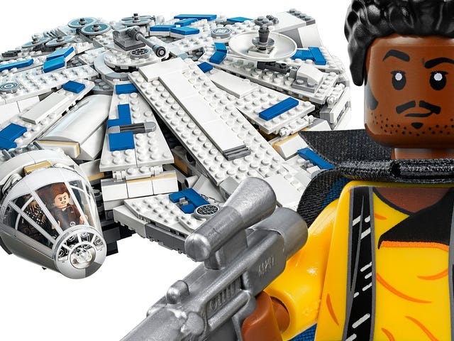The New Lego Millennium Falcon Looks So Fine
