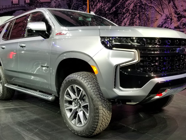 Here's A Quick Look At The 2021 Chevrolet Tahoe Z71's Off-Road Hardware