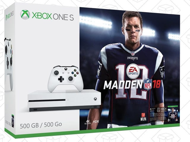 Now That the Season's Over, Get the Xbox One S Madden Bundle For $230