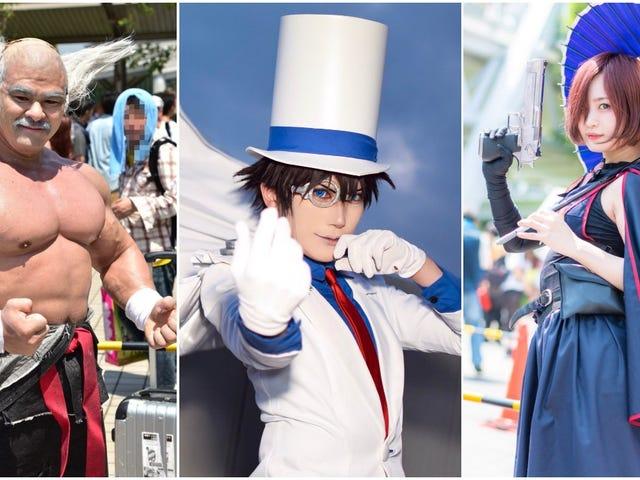 Summer Cosplay Heats Up Japan