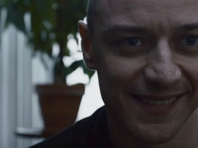 James McAvoy spiller en skræmmende dårlig fyr i New M. Night Shyamalan Trailer