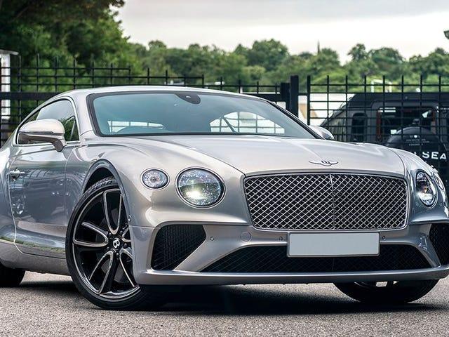 The Bentley Continental GT, nice