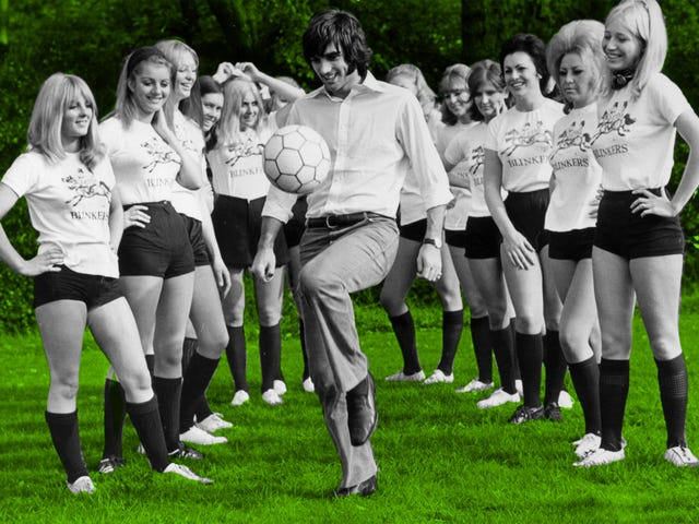 George Best And The Soccer Battle Of The Sexes That Changed ... Well, Nothing