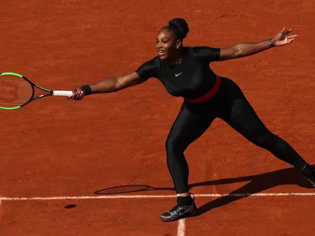 Wakanda for the Win: Serena Williams Brought Superhero Style to the French Open
