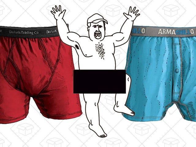 Upgrade Your Underwear to Duluth Buck Naked During This Rare Sale