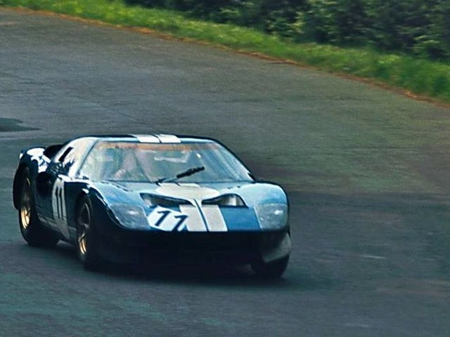 The Stig in a GT40?