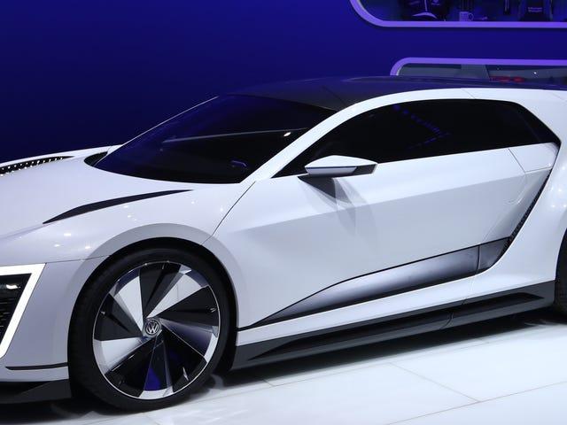 Tym razem siedziałem w Volkswagen Golf of the Future i zostałem okrzyknięty