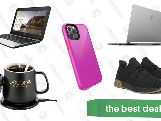 Najlepsze oferty w sobotę: laptopy, podgrzewacze do kubków, etui na telefony i inne