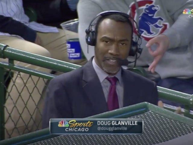 """Cubs Fanin käyttäminen """"OK"""" Hand Gesturein takana Doug Glanville takaa kiellon loputtomiin"""