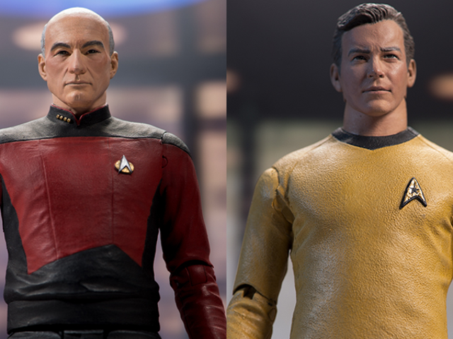 Our First Look at What Feels Like the First Star Trek Action Figures in Ages