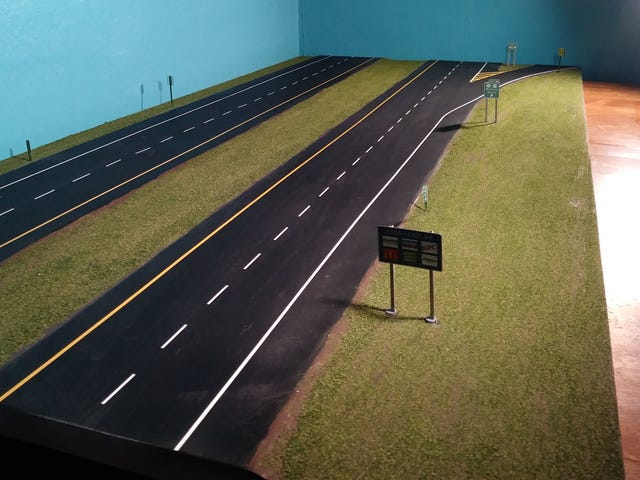 Highway Diorama is done!