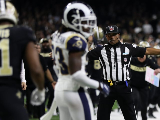 NFL Owners Vote To Make Pass Interference Calls And Non-Calls Reviewable