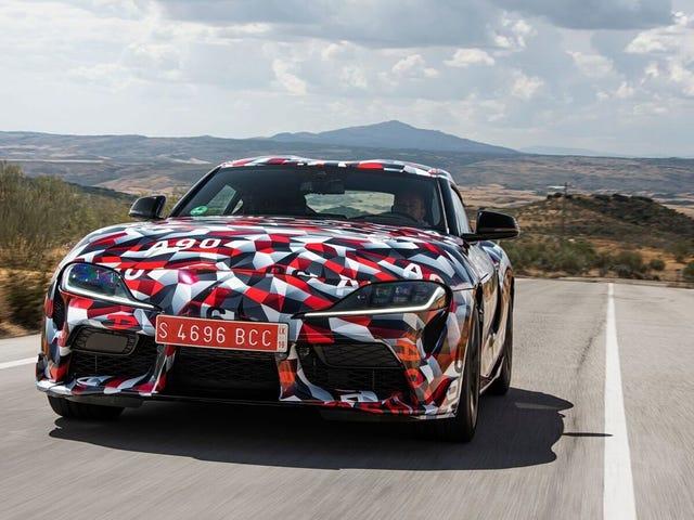 Den første produksjonen 2019 Toyota Supra kommer til en veldedighetsauksjon