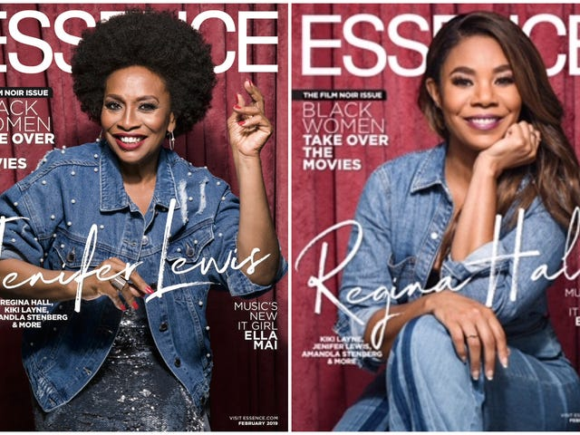 Film Noir x 4: KiKi, Jenifer, Regina and Amandla Cover Essence's Black Women in Hollywood Issue