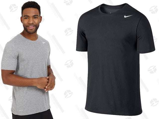 <Sweating Intensifies> Nike Dri-FIT Tees Are Just $15 at Amazon, If You Hurry