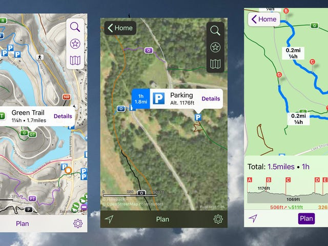 Navigate Hiking Trails With Hikepack