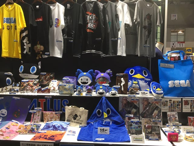 The Merchandise Of The 2019 Tokyo Game Show
