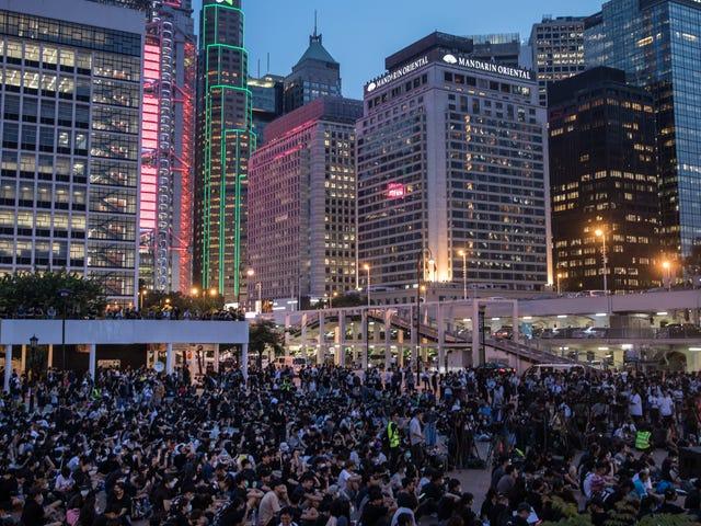 Operasi Pengaruh Hilang YouTube 'Menargetkan Protes Hong Kong, Menghindari Berbincang Jangkauannya