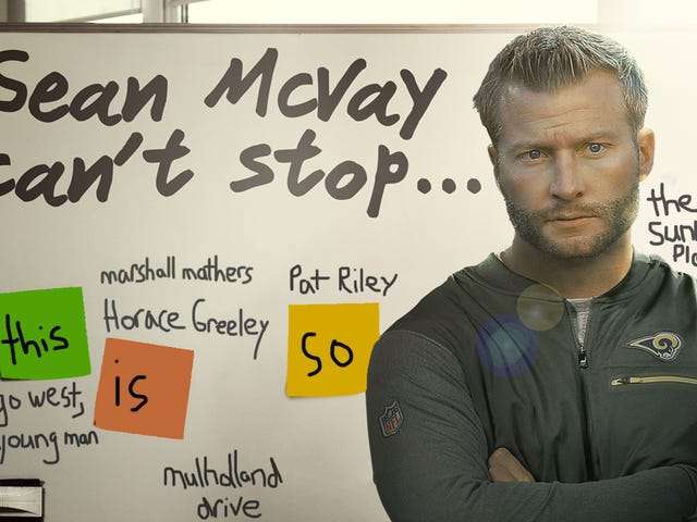 Cultural References In This NFL.com Sean McVay Profile, Ranked