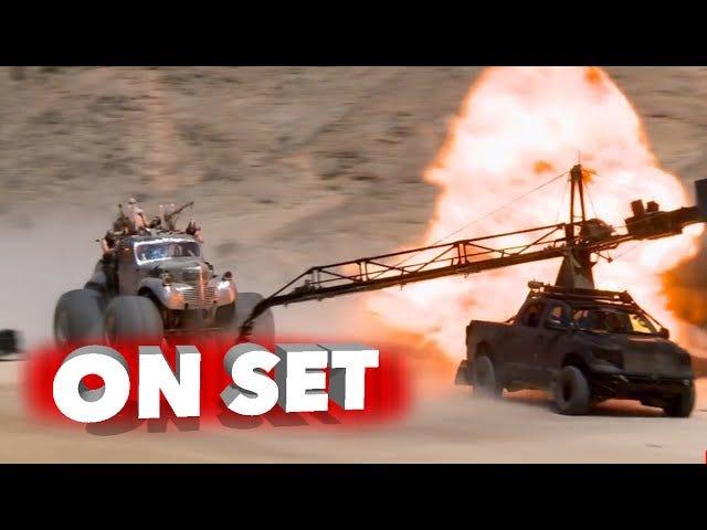 Achtzehn Minuten Rohmaterial aus dem Set von Mad Max: Fury Road