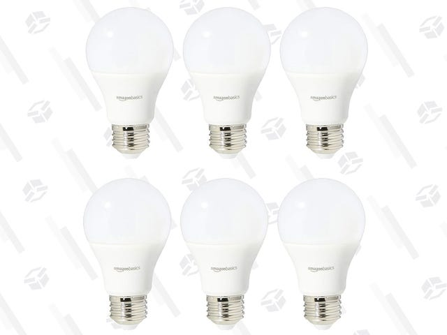 Replace Six Old Light Bulbs With LEDs For $11