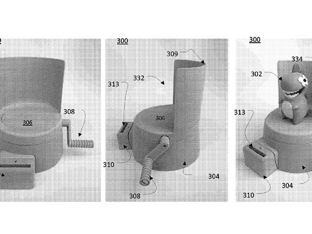 Hasbro patentert en 3D-skanner for barn som bruker en smarttelefon til å digitalisere leker